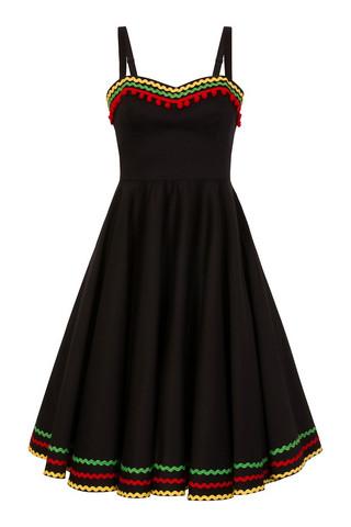 4819 HELL BUNNY MARIANNE DRESS