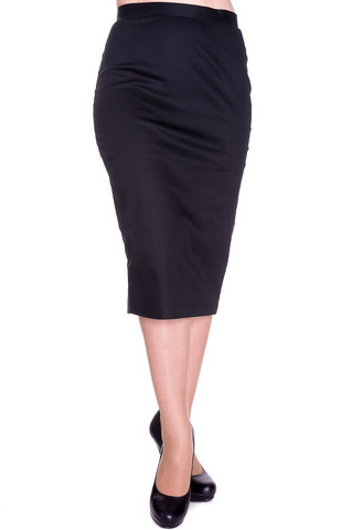 5274 Pencil skirt, blk, KOOT S