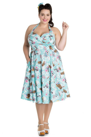 4572  Suki 50´S dress, plus size