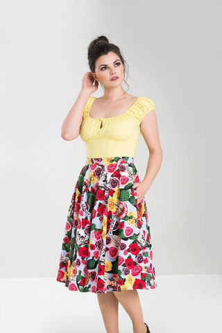 5503 Mexico 50´s skirt, plus size