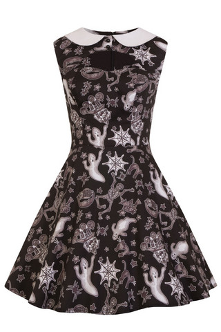4835 Spooky mini dress