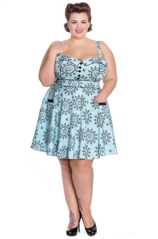 4692 Sailor Girl mini dress, plus size