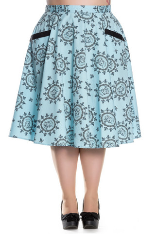 5427 Sailor girl 50´s skirt, plus size