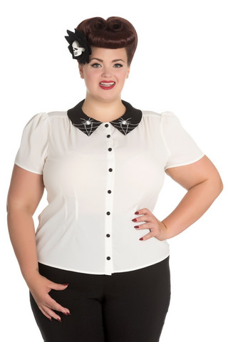 6560 Miss Muffet Blouse, plus size