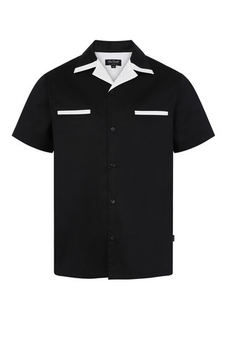 6001 CHET ROCK PSYCHOBILLY BOWLING SHIRT