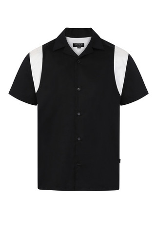 6002 Guitar Head Bowling shirt