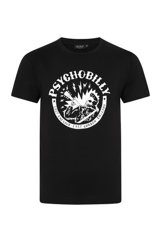 6006 Psychobilly short sleeve tee