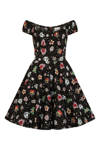 4865 Lovebird mid dress