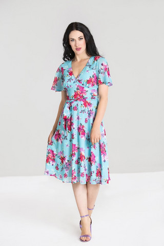 4873 HELL BUNNY PRIMAVERA DRESS