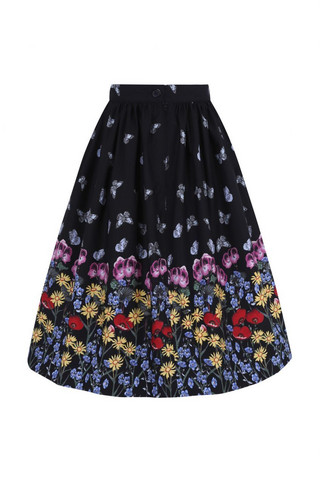 50000  HELL BUNNY MEADOW 50´S SKIRT