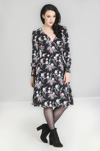 40027 HELL BUNNY FELICIA DRESS