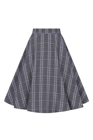 50006 HELL BUNNY FROSTINE MID SKIRT