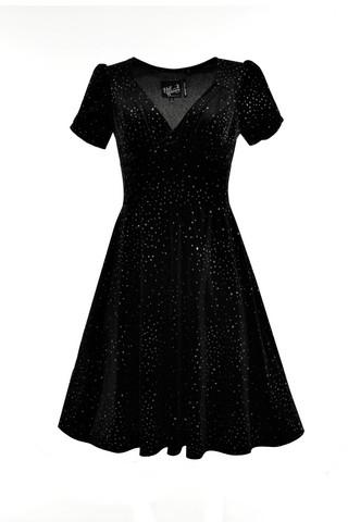40061 HELL BUNNY GLITTERBELLE DRESS