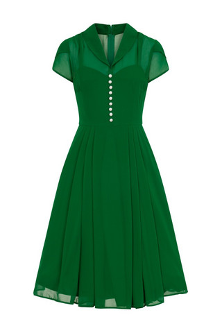 4808 Paige dress, green