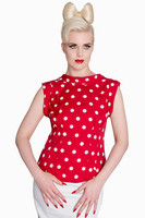 6406 DOTTY POLKA DOT PUSERO