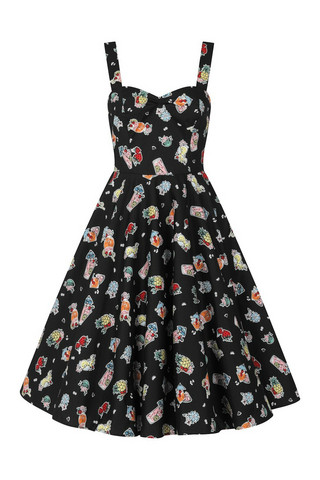 40094 HELL BUNNY TIKI TREAT 50´S DRESS