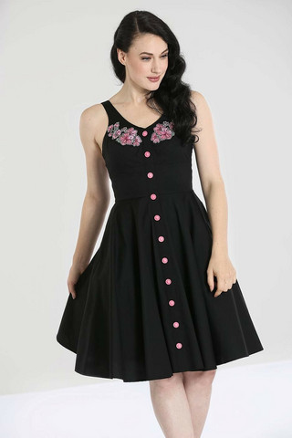 40078 HELL BUNNY LUCY MID DRESS