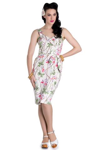 4582 HELL BUNNY BAMBOO PENCIL DRESS