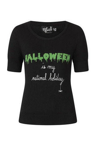 60054 HELL BUNNY HALLOWEEN FOREVER TOP