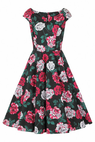40138 HELL BUNNY RUBY 50´S DRESS