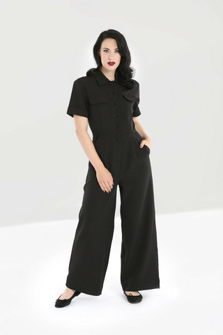50073 HELL BUNNY ABYSS BOILERSUIT