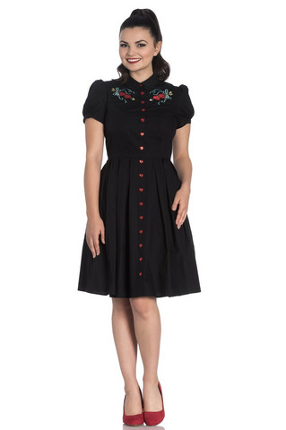 4803 HELL BUNNY AMORA DRESS