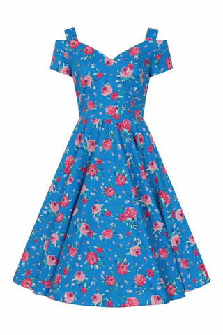 40163 HELL BUNNY CHANTILLY 50´S DRESS