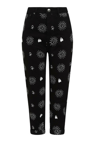 50132 HELL BUNNY OCULUS JEANS