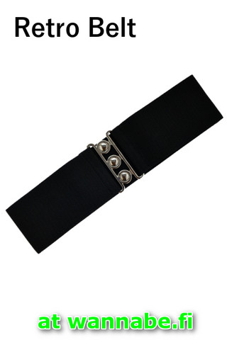 7065 Retro Belt, blk