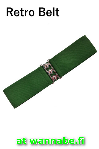 7065 Retro Belt, green