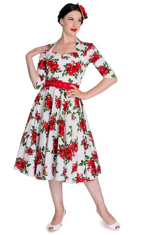 4292 Eternity 50´s dress,wht