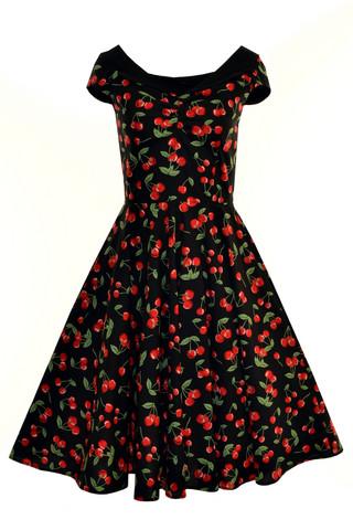4445 HELL BUNNY CHERRY POP 50S DRESS