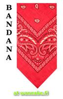bandana, hot pink
