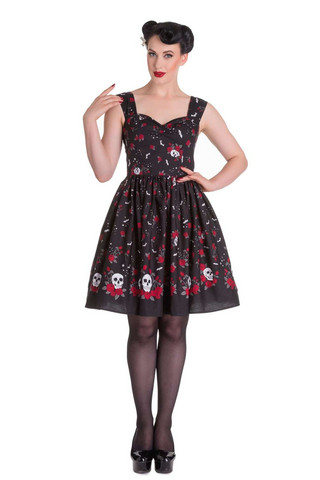 4516 HELL BUNNY Aconite dress