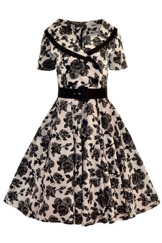 4420 HELL BUNNY HONOR DRESS