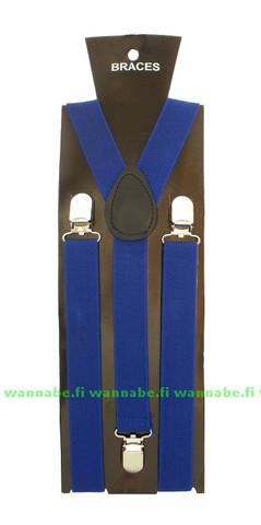 henkselit, plain royal blue