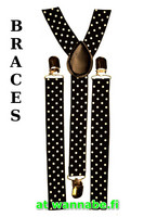 braces, dots, blk/wht