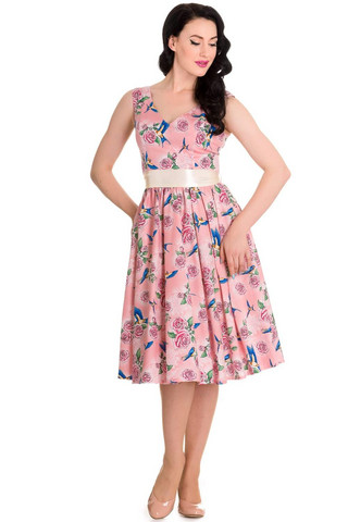 4419 Lacey 50´s dress, pnk