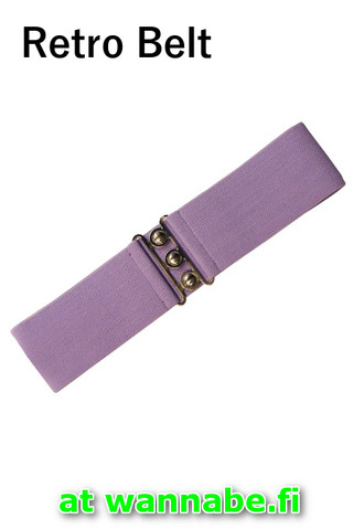 7065 Retro Belt, lav
