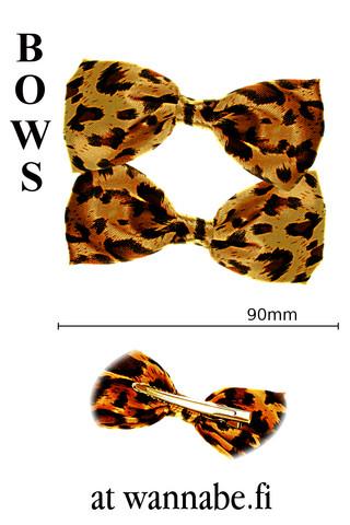 Hiusrusetti leopardi, brn