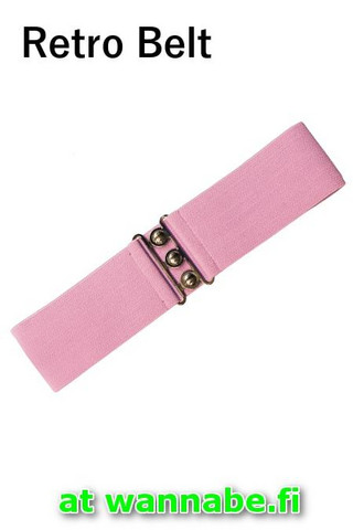 7065 Retro Belt, dolly pnk