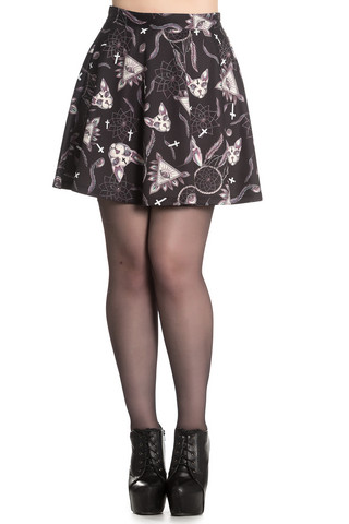 5409 SPIN DOCTOR Arcane mini skirt