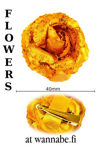 MetallicRose, mini, gold