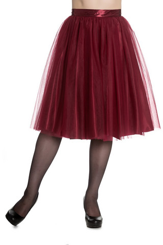 5421 Ballerina skirt, red