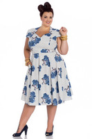 4685 Lori 50´s dress, plus size