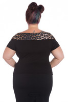 6607 Panthera top, plus size