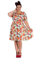 4726 Harvest dress, plus size