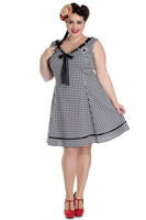 4569 Ladybird mini dress, plus size