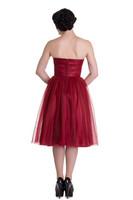 4504 Tamara dress, red