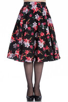 5467 HELL BUNNY LILIANA SKIRT